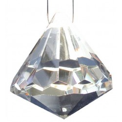 Kristalltropfen transparent