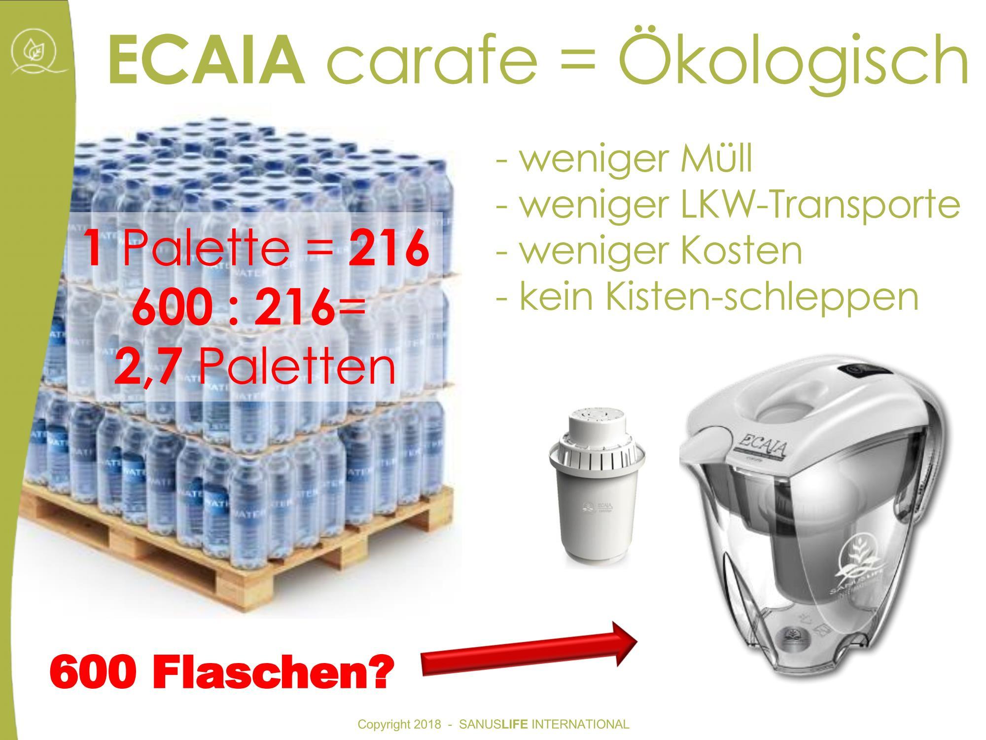 Bild Vergleich Ecaia - PET